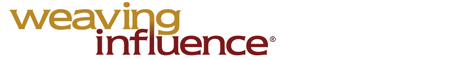 Weaving Influence Logo Screen