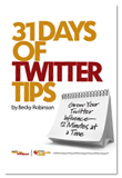31 Days Of Twitter Tips
