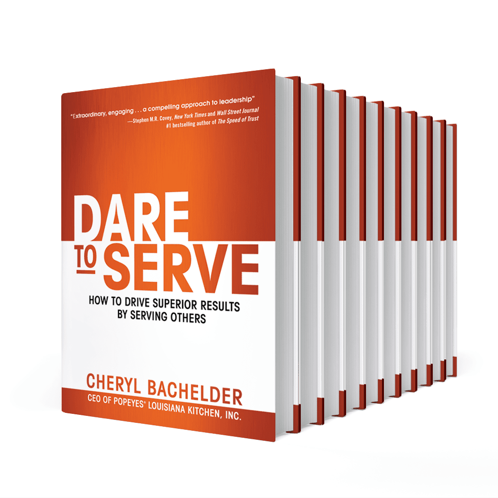 Featured on Friday: #DareToServe Author @CABachelder post image