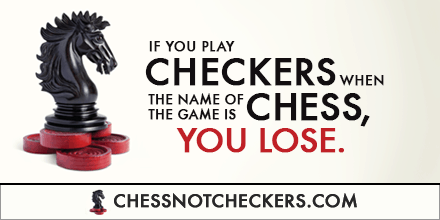Featured on Friday: #ChessNotCheckers Author Mark Miller @LeadersServe post image