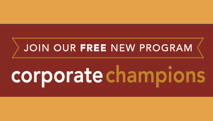 Featured on Friday: Corporate Champions