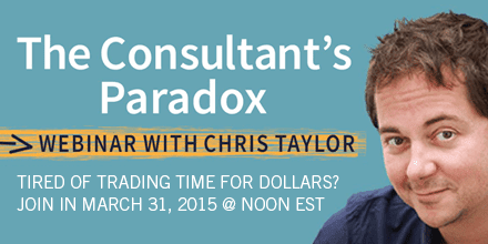 The Consultant's Paradox – With Chris Taylor