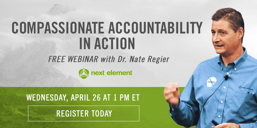 Compassionate Accountability in Action – with Nate Regier