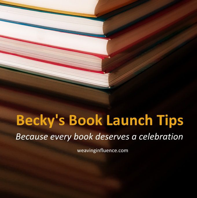 Best Book Launch Tips: Stay Centered
