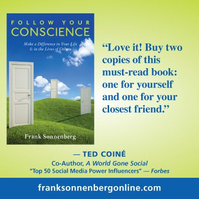 Featured on Friday: Frank Sonnenberg