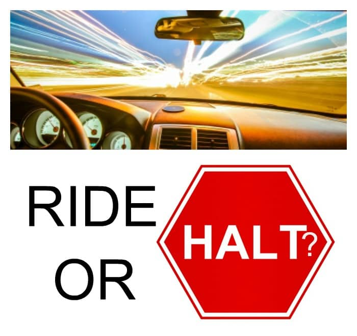 ride halt final