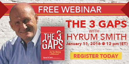 The 3 Gaps – with Hyrum Smith