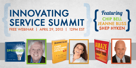 Innovating Service Summit – By Chip Bell