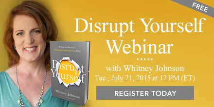 Disrupt Yourself – With Whitney Johnson
