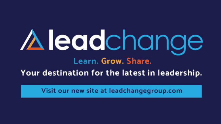 Lead Change: Your Destination for the Best in Leadership