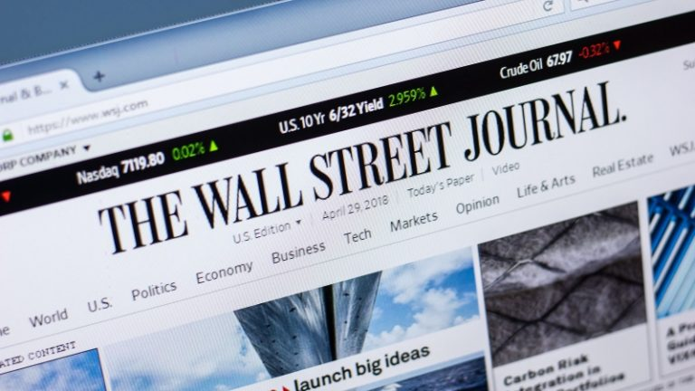 What It Takes to Get Into the Wall Street Journal