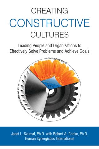 Creating Constructive Cultures