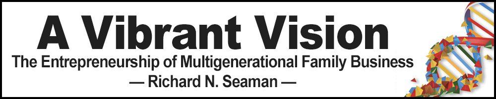 A Vibrant Vision - By Richard Seaman